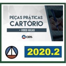 PEÇAS PRÁTICAS - CARTÓRIOS - CERS 2020.2 - SERVENTIAS - REVISADO E ATUALIZADO - 2ª FASE