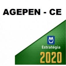 AGEPEN CE - AGENTE PENITENCIÁRIO CE 2020 - ESTRATÉGIA