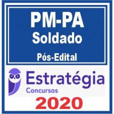 SOLDADO - PM PA ( POLÍCIA MILITAR DO PARÁ - PMPA) - PÓS EDITAL - ESTRATEGIA 2020
