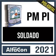 PM PI  - SOLDADO DA POLÍCIA MILITAR DO PIAUÍ - PMPI - ALFACON 2021 - PÓS EDITAL