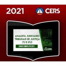 ANALISTA JUDICIÁRIO DE TRIBUNAIS - TJ e STJ - CERS 2021