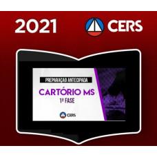 CARTÓRIO - MATO GROSSO DO SUL - MS - CERS 2021