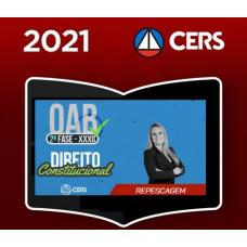 OAB - 2ª (segunda) Fase XXXII (32º Exame) DIREITO CONSTITUCIONAL - CERS 2021