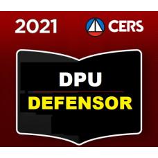 DEFENSOR PÚBLICO - DEFENSORIA PÚBLICA DA UNIÃO - CERS 2021