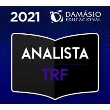 ANALISTA DE TRIBUNAIS REGIONAIS FEDERAIS - TRFs - DAMÁSIO 2021