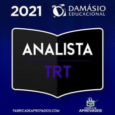 ANALISTA DE TRIBUNAIS DO TRABALHO - TST e TRTs - DAMÁSIO 2021