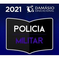 POLÍCIA MILITAR - OFICIAL E SOLDADO - PM - REGULAR - DAMÁSIO 2021