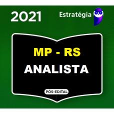 MP RS - ANALISTA - DIREITO - MPRS - PACOTE COMPLETO - ESTRATEGIA 2021 - PÓS EDITAL