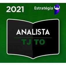 TJ TO - ANALISTA JUDICIÁRIO DO TRIBUNAL DE JUSTIÇA DE TOCANTINS - TJTO - TEORIA - PACOTE COMPLETO - ESTRATEGIA 2021 - PRÉ EDITAL