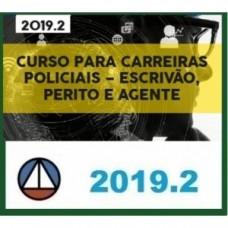 CURSO PARA CARREIRAS POLICIAIS – ESCRIVÃO, PERITO E AGENTE - CERS 2019.2