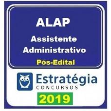 ALAP - ASSISTENTE ADMINISTRATIVO - ASSEMBLEIA LEGISLATIVA AMAPÁ - ESTRATÉGIA 2019 - PÓS EDITAL