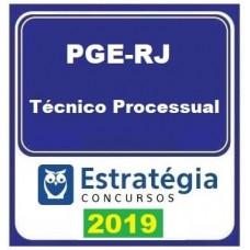 PGE RJ (TÉCNICO PROCESSUAL) - ESTRATEGIA - 2019.2