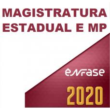 MAGISTRATURA ESTADUAL E MPE (ENFASE 2020) JUIZ E PROMOTOR (TODAS AS FASES)
