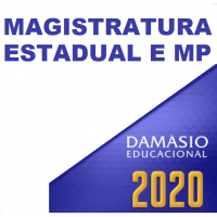 MAGISTRATURA ESTADUAL E MP - TEORIA + COMPLEMENTARES DAMÁSIO - 2020.2 – JUIZ E PROMOTOR