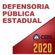 DEFENSORIA PÚBLICA ESTADUAL (CERS 2020)