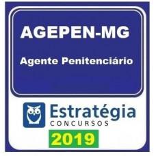AGEPEN MG - AGENTE PENITENCIÁRIO 2019 - ESTRATÉGIA