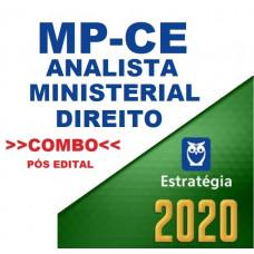 MPCE - ANALISTA MINISTERIAL - DIREITO - TEORIA + PASSO ESTRATÉGICO - PÓS EDITAL - ESTRATÉGIA 2020