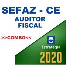 SEFAZ CE - AUDITOR FISCAL CEARÁ - TEORIA + PASSO ESTRATÉGICO - ESTRATÉGIA 2020