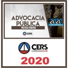 CURSO DE PRÁTICA JURÍDICA - ADVOCACIA PÚBLICA (CERS 2020)
