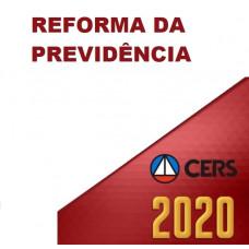 CURSO REFORMA DA PREVIDÊNCIA (CERS  2020)