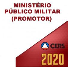 MPM - PROMOTOR MINISTÉRIO PÚBLICO MILITAR (CERS  2020)