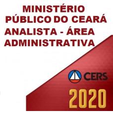 MPCE - ANALISTA DO MINISTÉRIO PÚBLICO DO CEARÁ MP CE - ÁREA ADMINISTRATIVA - PÓS EDITAL (CERS  2020)