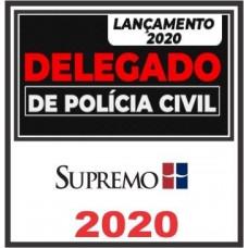 DELEGADO CIVIL (REGULAR) SUPREMO TV 2020