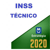 INSS - TÉCNICO DO SEGURO SOCIAL - ESTRATEGIA 2020