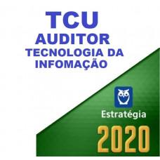 TCU - AUDITOR TI - TECNOLOGIA DA INFORMAÇÃO - ESTRATEGIA 2020