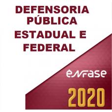 Defensoria Estadual E Federal (ENFASE 2020) DPU DPE