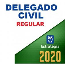 DELEGADO CIVIL REGULAR - ESTRATÉGIA 2020