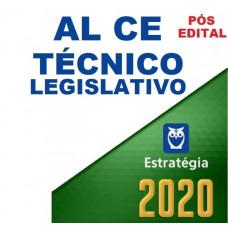 AL CE - TÉCNICO LEGISLATIVO DA ASSEMBLÉIA LEGISLATIVA DO CEARÁ ALCE - ESTRATÉGIA 2020 - PÓS EDITAL