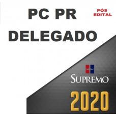 PC PR - DELEGADO DA POLÍCIA CIVIL DO PARANÁ - PCPR - SUPREMO - PÓS EDITAL 2020