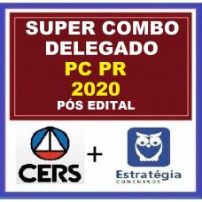 COMBO PC PR - DELEGADO DA POLÍCIA CIVIL DO PARANÁ - PCPR - CERS + ESTRATÉGIA - PÓS EDITAL