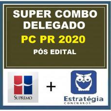 COMBO PC PR - DELEGADO DA POLÍCIA CIVIL DO PARANÁ - PCPR - SUPREMO + ESTRATÉGIA - PÓS EDITAL