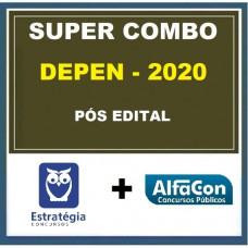 SUPER COMBO DEPEN PÓS-EDITAL (ESTRATÉGIA + ALFACON)- AGENTE FEDERAL DE EXECUÇÃO PENAL - 2020