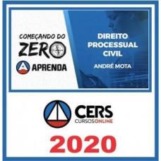 DIREITO PROCESSUAL CIVIL - Começando do Zero - CERS 2020