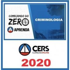 CRIMINOLOGIA - Começando do Zero - CERS 2020