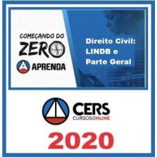 Direito Civil: LINDB e Parte Geral - Começando do Zero - CERS 2020