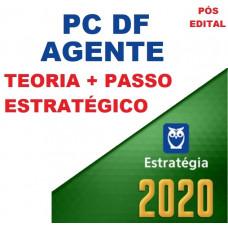 AGENTE PC DF - PÓS EDITAL- CURSO PARA AGENTE DA POLICIA CIVIL DO DISTRITO FEDERAL - PCDF - PÓS EDITAL - ESTRATEGIA - 2020